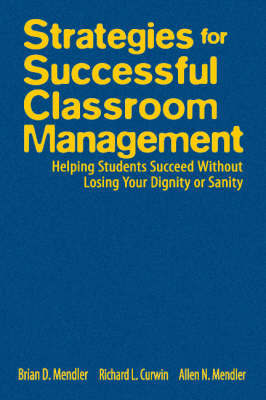 Strategies for Successful Classroom Management by Brian D. Mendler image