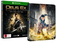 Deus Ex: Mankind Divided Day 1 Steelbook Edition for Xbox One image