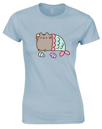 Pusheen MerCat T-Shirt (XX-Large)