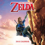 The Legend of Zelda 2018 Wall Calendar by Nintendo USA