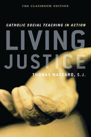 Living Justice by Thomas Massaro image