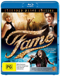 Fame: The Extended Version on Blu-ray