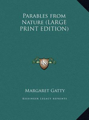 Parables from Nature by Margaret Gatty image