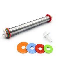 Ape Basics: Adjustable Stainless Steel Rolling Pin (44cm)