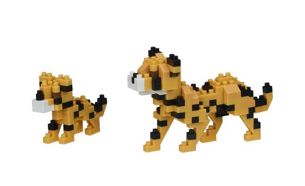 nanoblock: Critters - Cheetahs