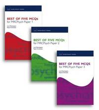 Best of Five MCQS for MRCPsych Papers 1, 2 and 3 Pack: Papers 1, 2 and 3 by Lena Kathiravan Palaniyappan image