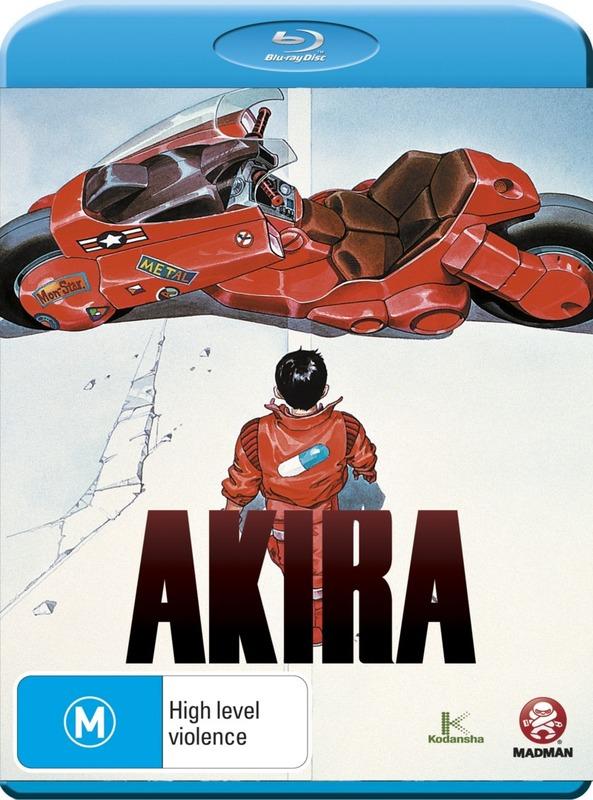 Akira on Blu-ray