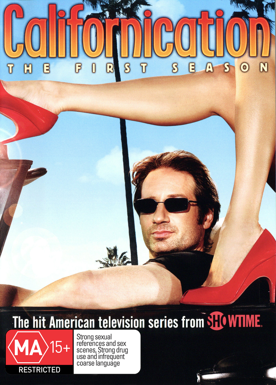 Californication - The 1st Season on DVD image