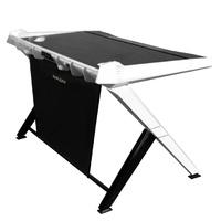 DXRacer Gaming Desk (Black & White) for  image