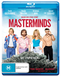 Masterminds on Blu-ray