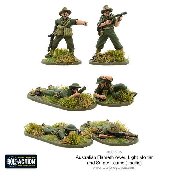 Australian Weapons Teams (Pacific)