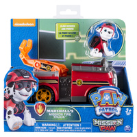 Paw Patrol: Themed Vehicles - Marshall's Mission Fire Truck