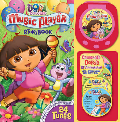 Dora Music Player Storybook by Reader's Digest