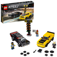 LEGO Speed Champions - 2018 Dodge Challenger SRT Demon & 1970 Dodge Charger R/T (75893)