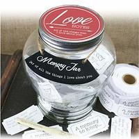 Memory Keepsake Jar - Love Notes