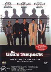 The Usual Suspects on DVD