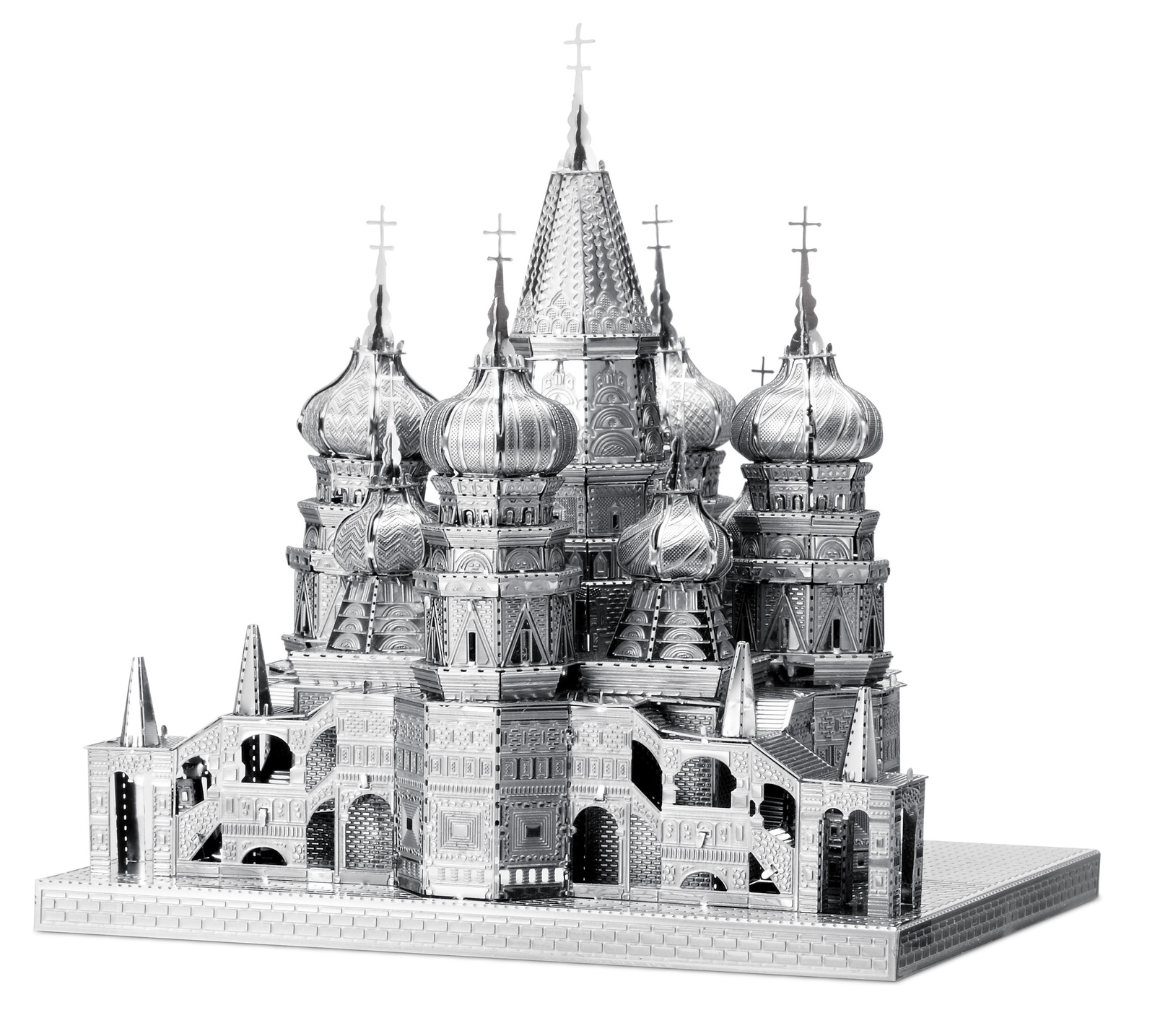 Metal Earth ICONX: Saint Basil's Cathedral - Model Kit image