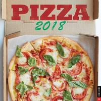 Pizza 2018 Wall Calendar by Universe Publishing