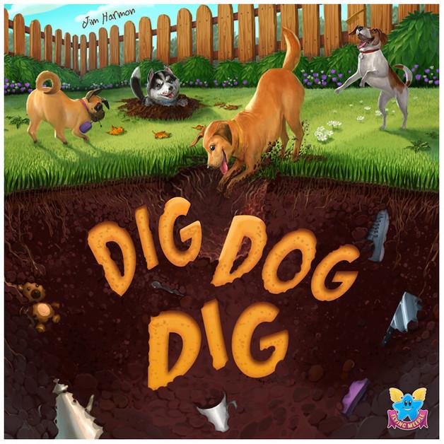 Dig Dog Dig - Board Game