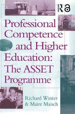 Professional Competence And Higher Education by Richard Winter
