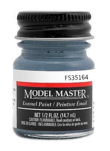 Testors: Enamel Paint - Intermediate Blue (Flat)