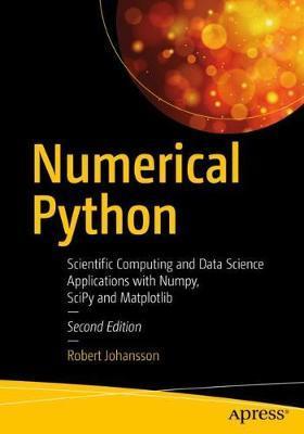 Numerical Python by Robert Johansson