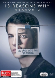 13 Reasons Why - The Complete Second Season on DVD