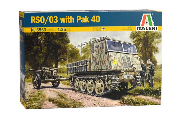 Italeri 1/35 RSO/03 with Pak 40 - Model Kit