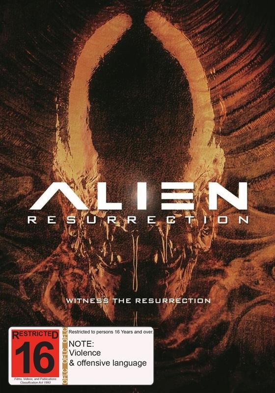 Alien Resurrection on DVD