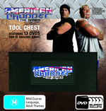 American Chopper Tool Chest Wallet (13 Discs) on DVD
