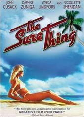The Sure Thing on DVD