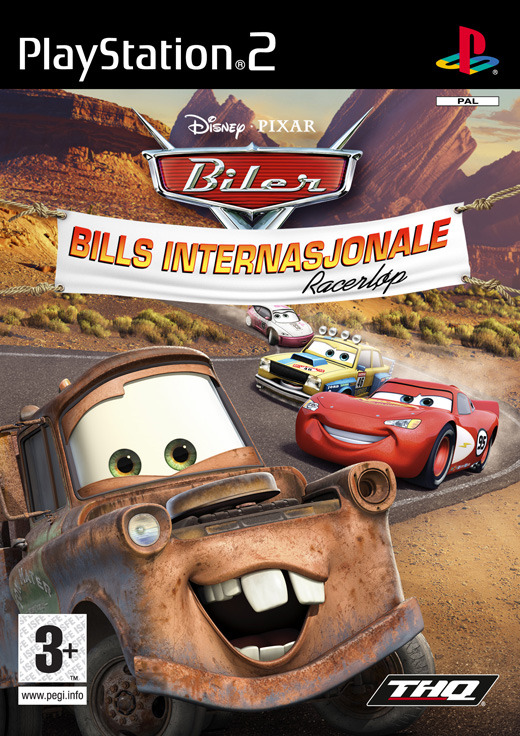Cars Mater-National for PlayStation 2