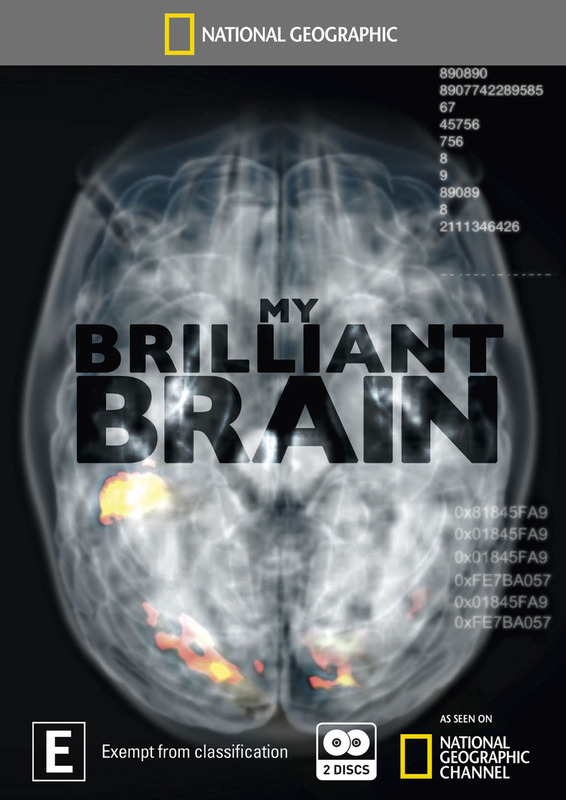 National Geographic: My Brilliant Brain (2 Disc Set) on DVD