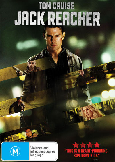 Jack Reacher on DVD