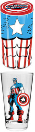 Marvel Captain America Glass in Tin