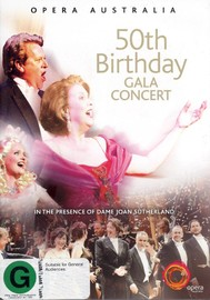 50th Birthday Gala Concert - Opera Australia on DVD image