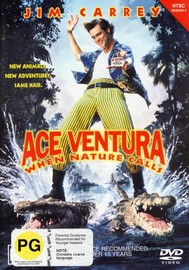 Ace Ventura:  When Nature Calls on DVD image