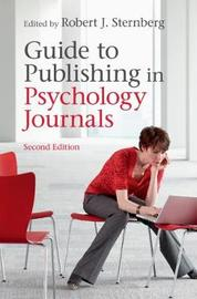 Guide to Publishing in Psychology Journals image