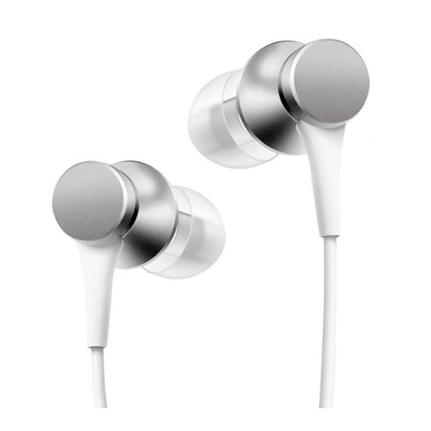 Xiaomi Mi Basic In-Ear Headphones w/ Wire Control - Silver