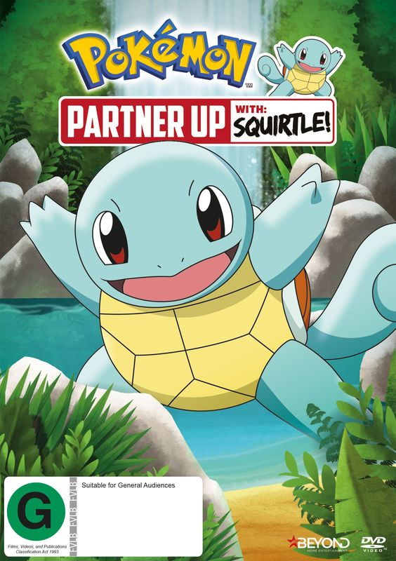 Pokemon: Partner Up With Squirtle! on DVD