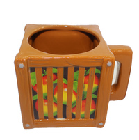 Crash Team Racing Wumpa Fruit Crate Mug