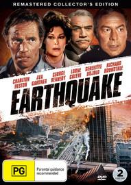 Earthquake on DVD