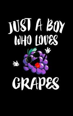 Just A Boy Who Loves Grapes by Marko Marcus image