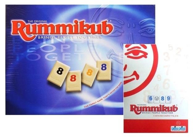 Rummikub Classic Edition - Includes Bonus Mini Travel Set