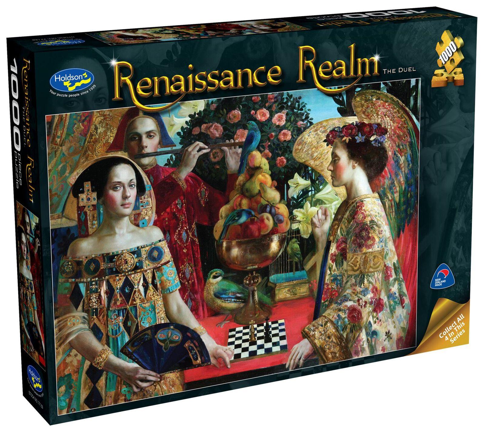 Holdson: 1000 Piece Puzzle - Renaissance Realm S2 (The Duel) image