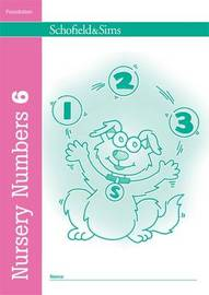 Nursery Numbers Book 6 by Sally Johnson image