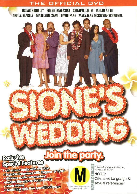 Sione's Wedding on DVD