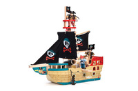 Le Toy Van: Budkins - Jolly Pirate Ship