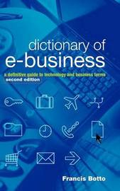 Dictionary of e-Business by Francis Botto image