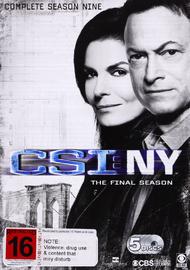 CSI New York Season 9 on DVD
